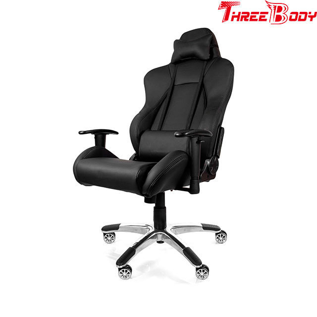 Adjustable Executive Racing Office Chair 69 * 32 * 65cm Large Load Capacity