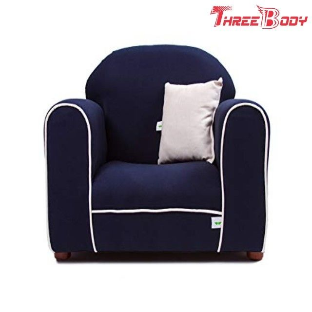 Contemporary Toddler Upholstered Chair , Kids Bedroom Furniture Child Lounge Chair